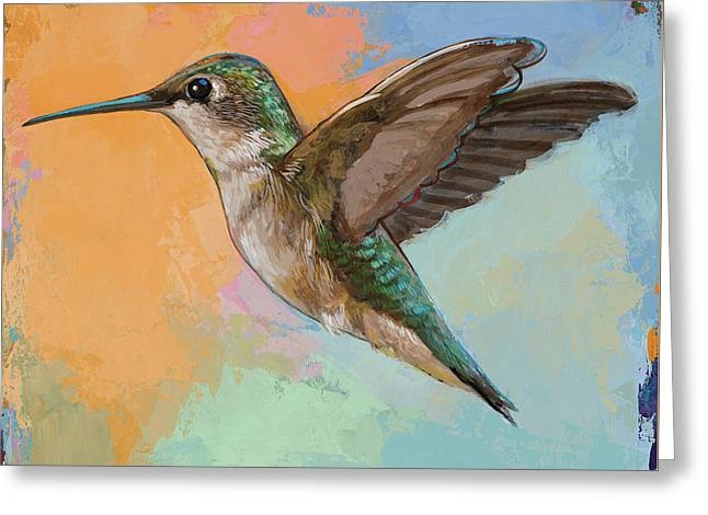 Hummingbird #5 Greeting Card