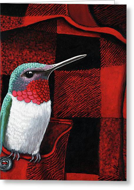 Hummingbird Memories Greeting Card