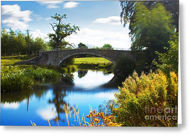 Humpback Bridge  Greeting Card by Chris Evans