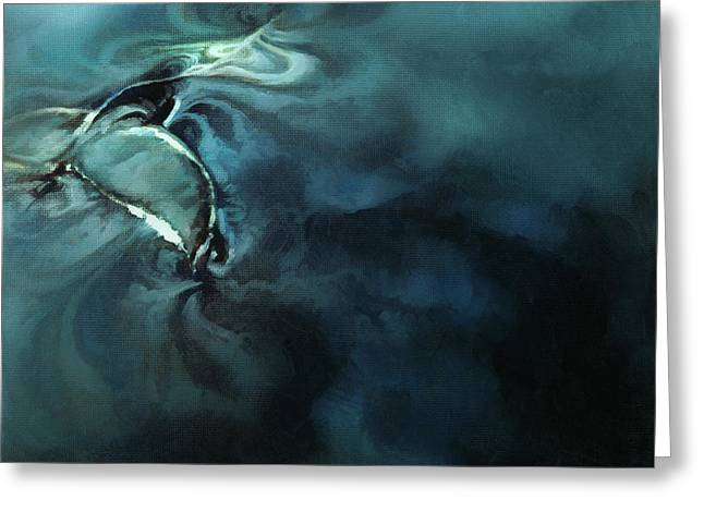 Humpback Whale I Greeting Card