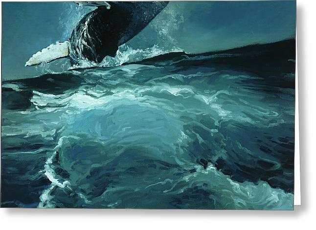 Humpback Whale Iv Greeting Card