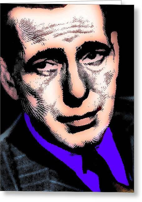 Humphrey Bogart 2 Greeting Card by Otis Porritt