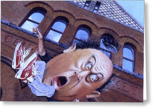 Humpty Dumpty Greeting Card by Denny Bond