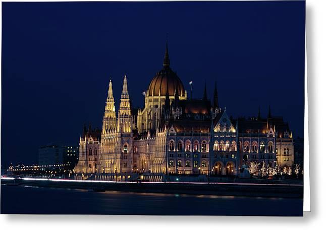 Hungarian Parliament Building #1 Greeting Card