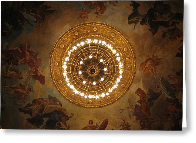 Hungarian State Opera House For Prints Greeting Card