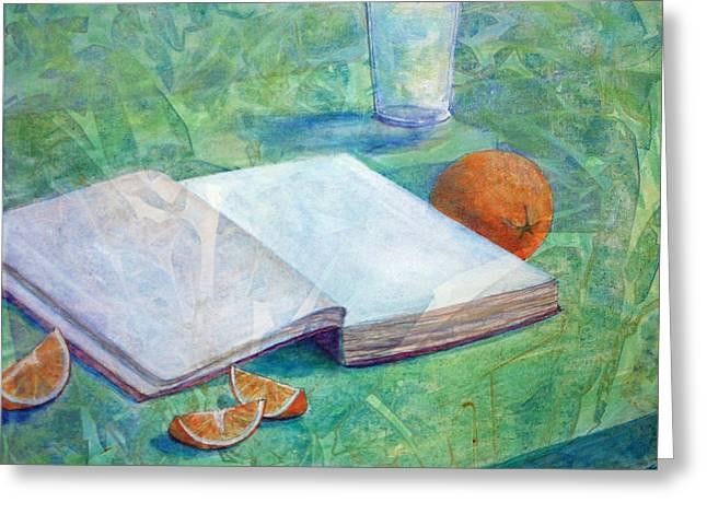Hunger And Thirst Greeting Card by Arlissa Vaughn