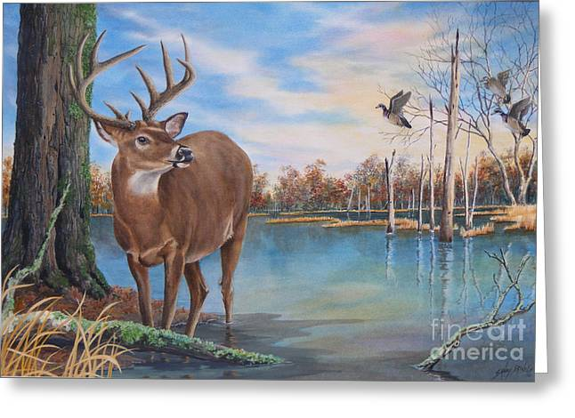 Hunters Dream Sold Greeting Card