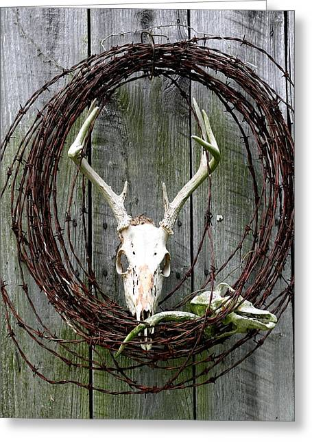 Hunters Wreath Variation Greeting Card