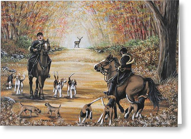 Hunting Day Greeting Card