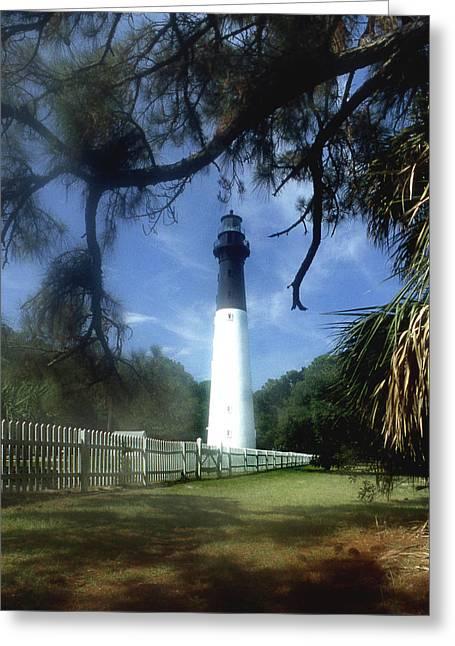 Hunting Island Lighthouse Sc Greeting Card