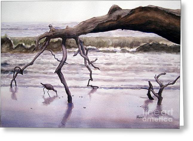 Hunting Island Sculpture Greeting Card