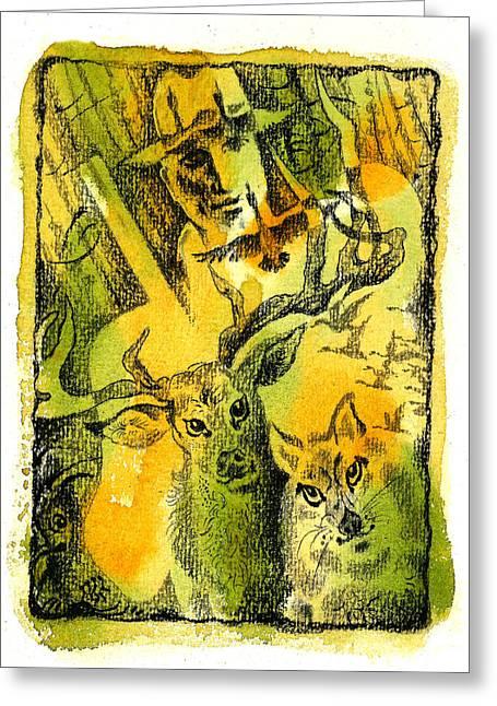 Hunting Greeting Card