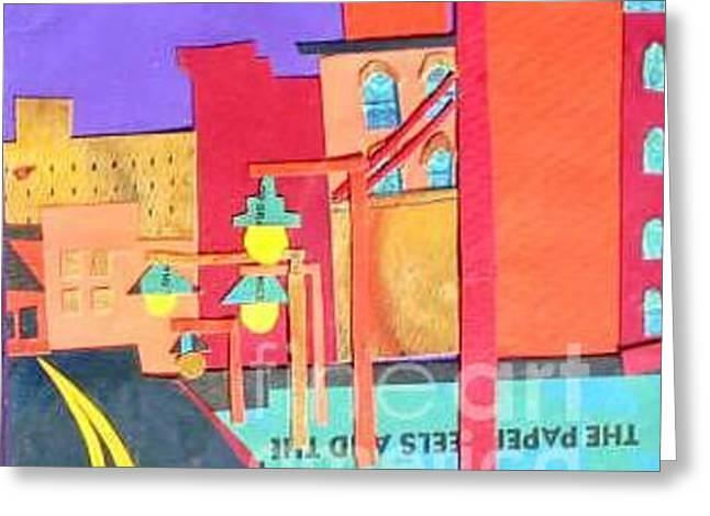 Huntington Avenue Greeting Card by Debra Bretton Robinson