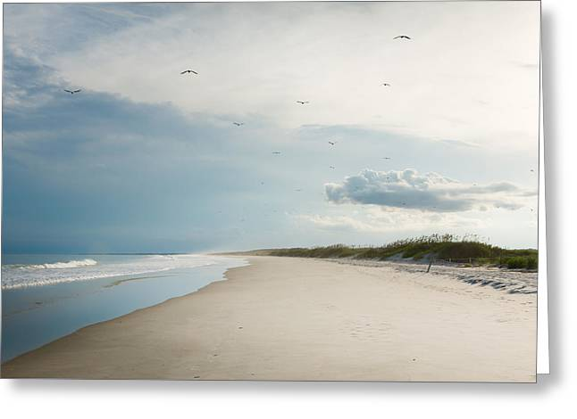 Huntington Beach State Park II Greeting Card by Ivo Kerssemakers