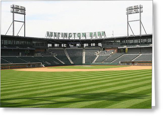 Huntington Park Baseball Field Greeting Card