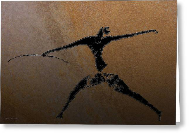 Huntsman Of Lascaux V2 Greeting Card