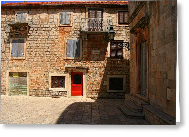 Hvar Greeting Card by Eye Contact