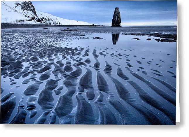 Hvitserkur, Iceland Greeting Card