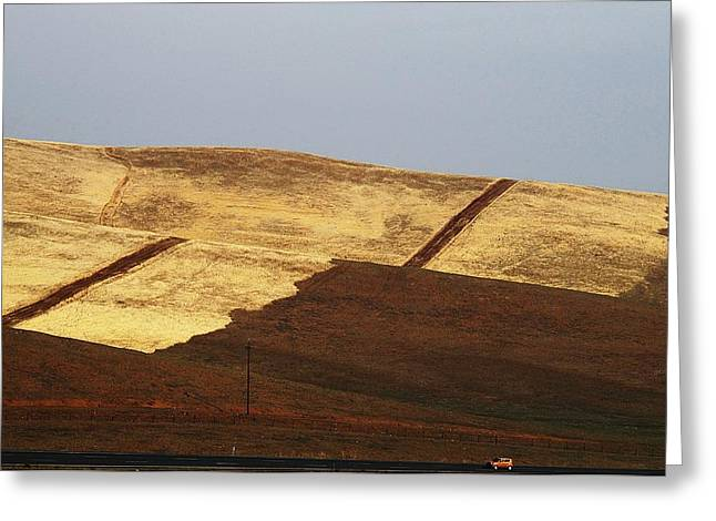 Hwy. 152 San Luis Reservoir Greeting Card