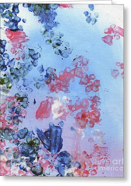 Hyacinth Greeting Card by Antony Galbraith