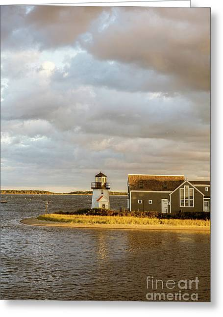 Hyannis Harbor Lighthouse Greeting Card