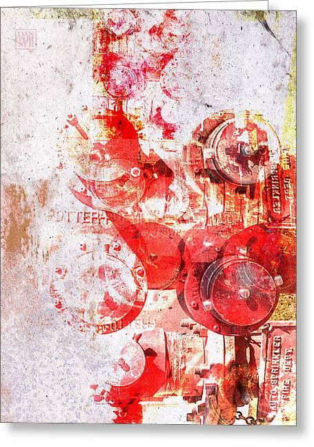 Hydrant Greeting Card