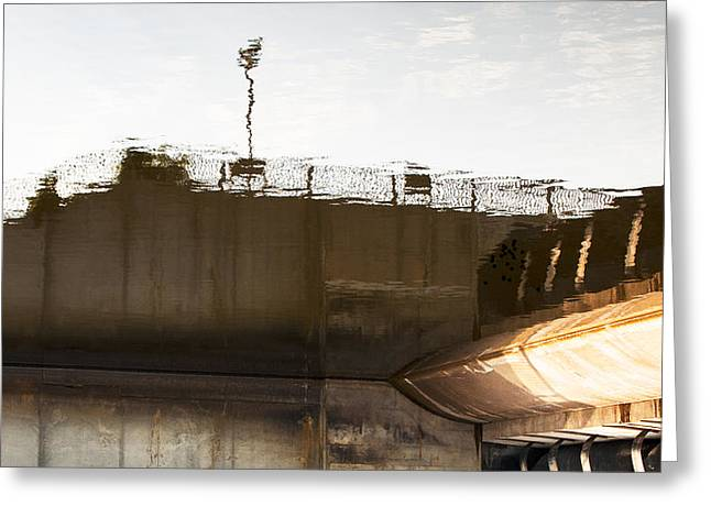 Hydro Dam Number Two Greeting Card by Michael Rutland