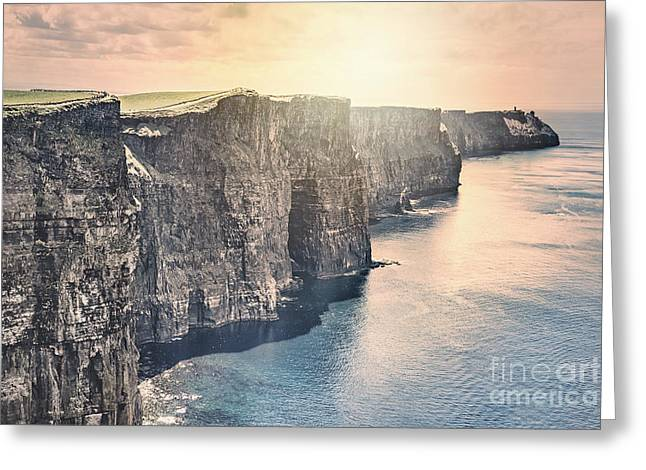 Hymn Of The Cliffs Greeting Card