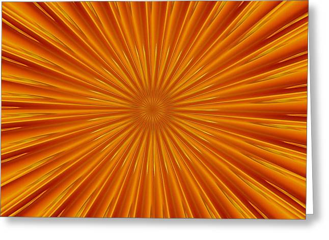 Greeting Card featuring the photograph Hypnosis 5 by David Dunham