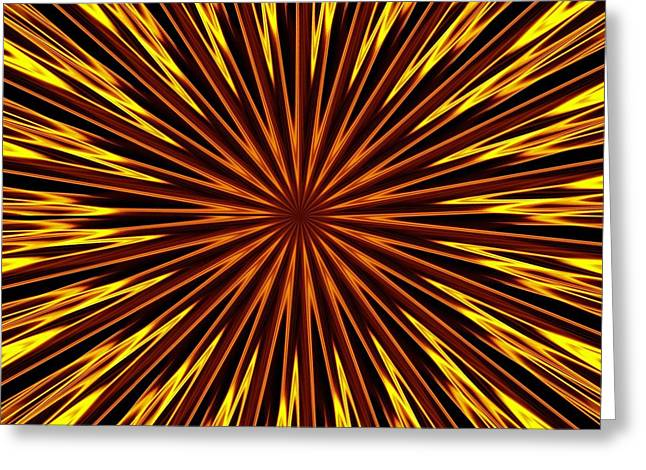 Greeting Card featuring the photograph Hypnosis 6 by David Dunham