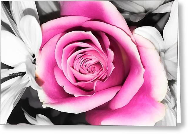 Hypnotic Pink 2 Greeting Card
