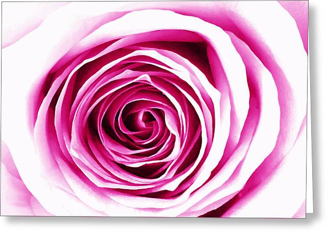 Hypnotic Pink Greeting Card