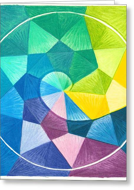 Mandalas Pastels Greeting Cards - I Am Celebrating Greeting Card by Ulla Mentzel