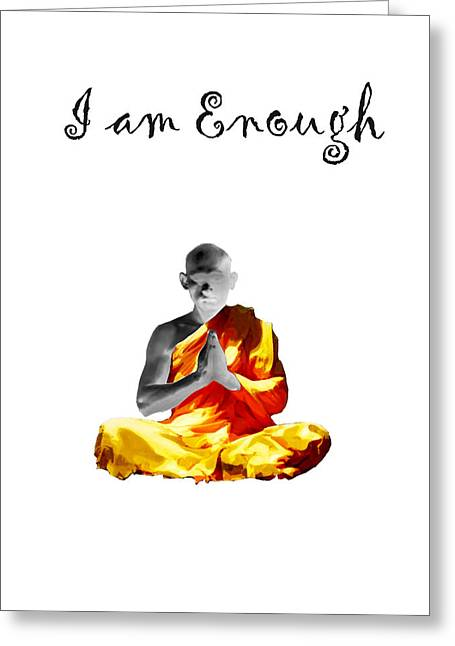 I Am Enough Greeting Card