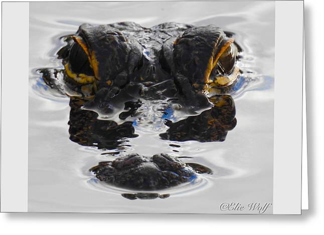 I Am Gator Greeting Card