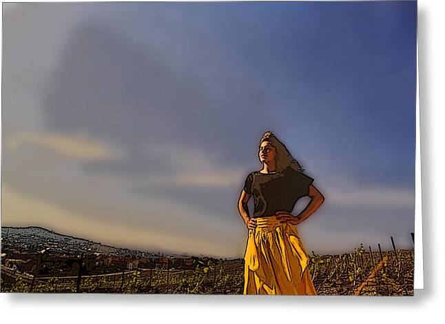 I Am Woman Greeting Card by Don Wolf