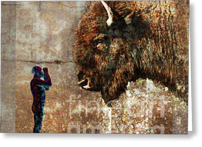 I Can See You Greeting Card by Brian Barrer