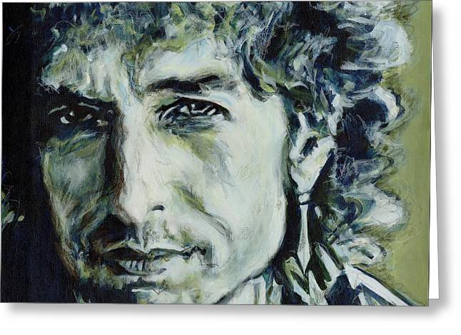 I Could Hold You For A Million Years. Bob Dylan Greeting Card
