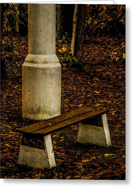 Greeting Card featuring the photograph I Could Wait by Odd Jeppesen