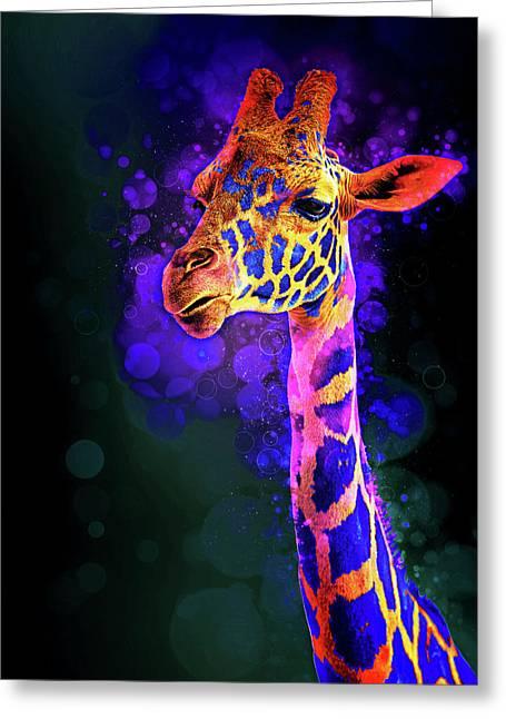 I Dreamt A Giraffe Greeting Card
