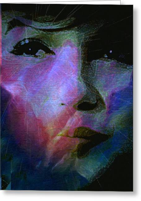 I Liked You Because You Were Kind. Greeting Card by Michele Carter