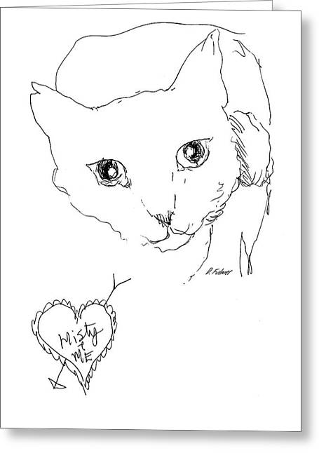 I Love Misty Greeting Card by Denise Fulmer
