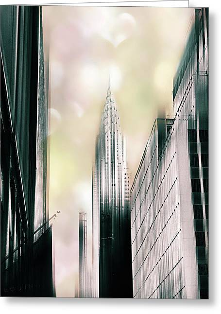 I Love New York Greeting Card by Jessica Jenney