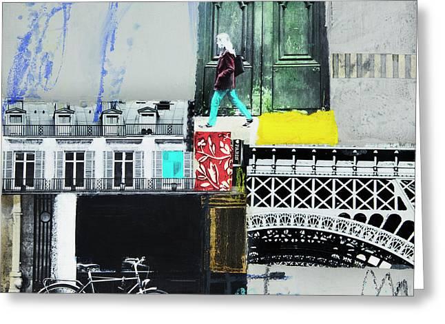 I Love Paris Greeting Card