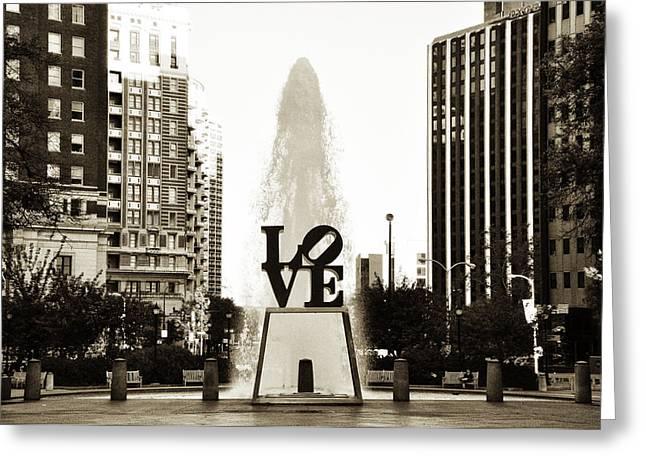 I Love Philadelphia Greeting Card