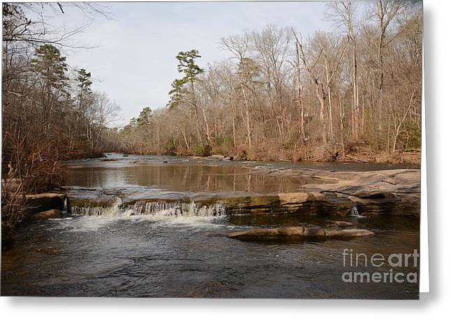 I Love To Go A Wanderin' Yellow River Park -georgia Greeting Card