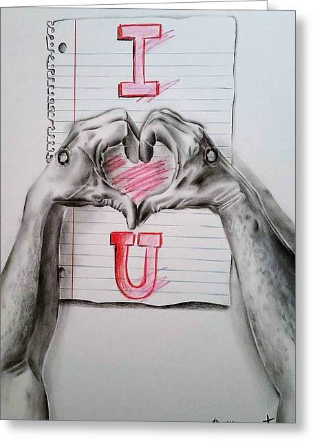 I Love You This Much II Greeting Card