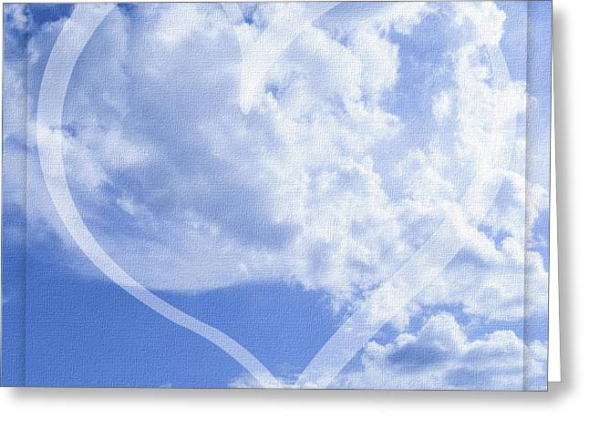 I Love You To The Clouds And Back Greeting Card