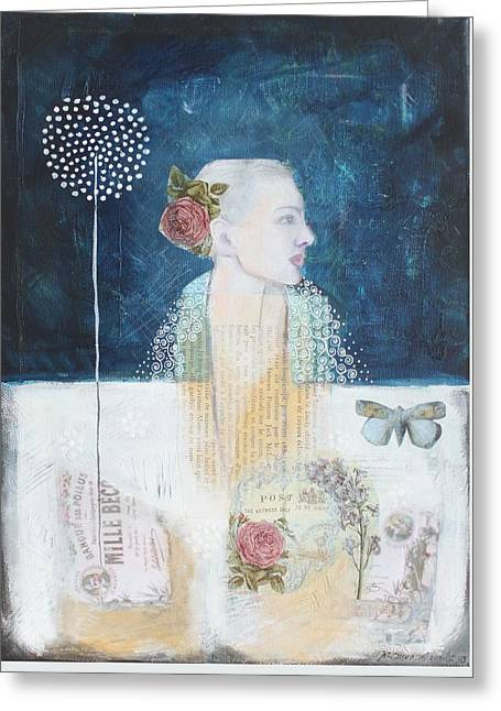 I Remember Greeting Card by Johanna Virtanen