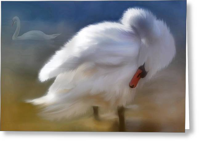 I Saw You In A Dream Greeting Card by Elaine Manley